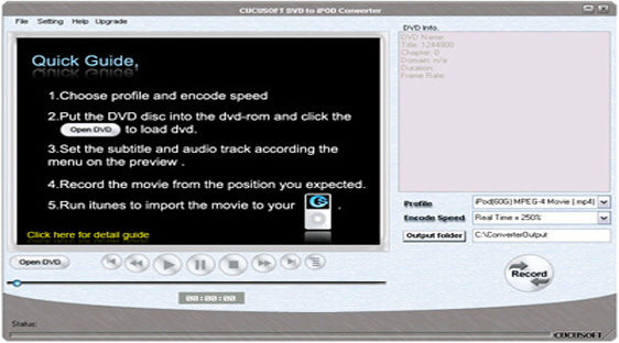 Cucusoft DVD to iPod Converter Build 123