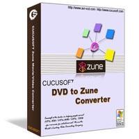 Download Cucusoft DVD to Zune Converter Four