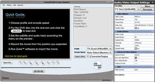 cucusoft dvd to zune converter pro