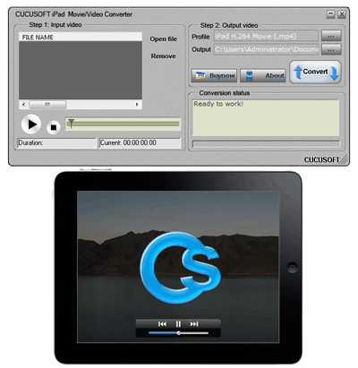 Cucusoft iPad Video Converter