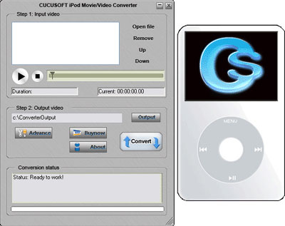 Cucusoft iPod Movie/Video Converter 08