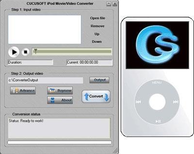 Download Cucusoft iPod Movie/Video Converter 08