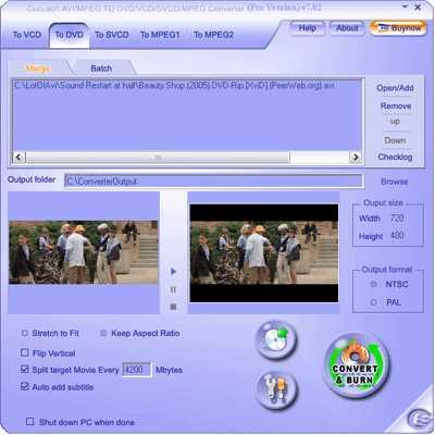 Cucusoft Videos to DVD/VCD Converter Pro