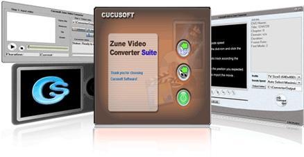Download Cucusoft Zune DVD + Video Converter