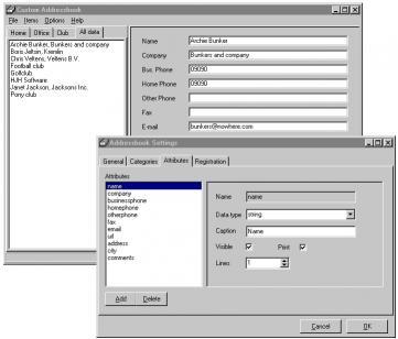 Download Custom Addressbook Lite