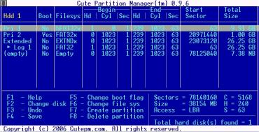 Download Cute Partition Manager