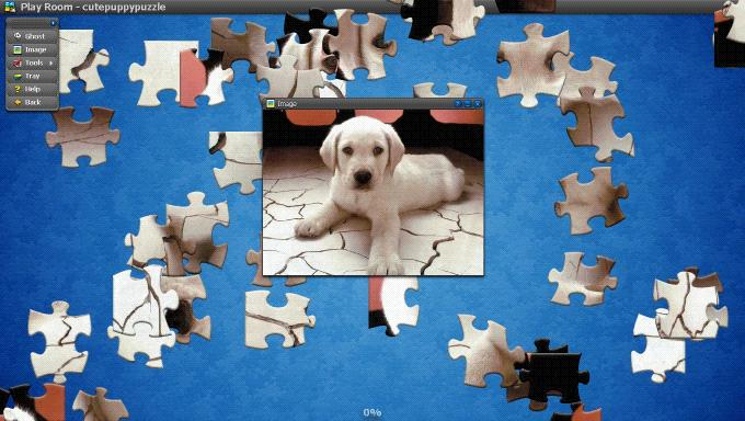 Download Cute Puppu Puzzle