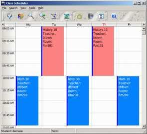 Download CyberMatrix Class Scheduler