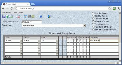 Download CyberMatrix Timesheets Web Enterprise