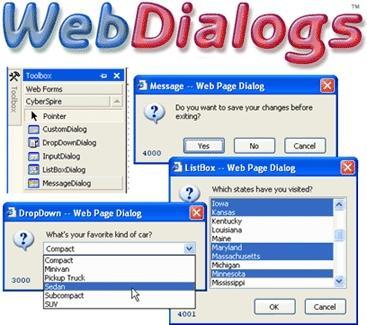 Download CyberSpire WebDialogs