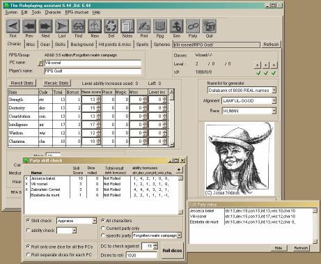 Download D20 RPG Assistant