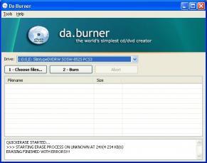 Download daBurner
