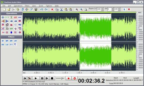 Download DanDans Audio Editor