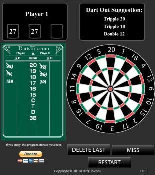 Download Dartstip.com Darts Calculator