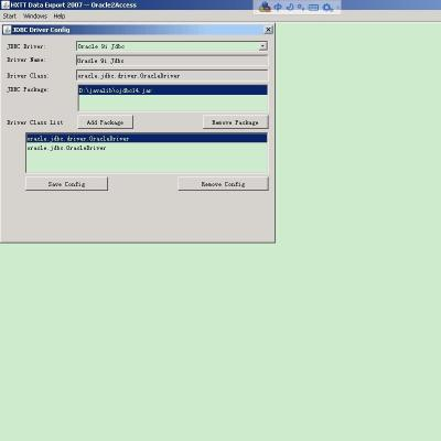 Download Data Export - Oracle2Access
