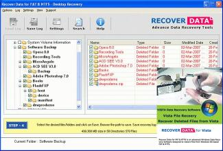 Download Data Recovery Software for Vista