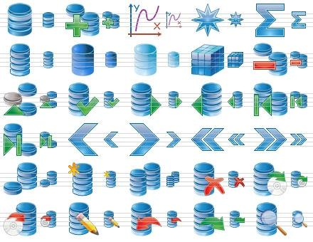 Download Database Icon Set