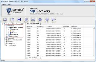 Download Database Repair Software for SQL