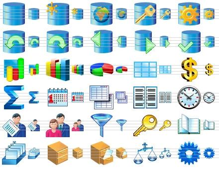 Download Database Software Icons