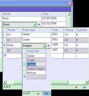 DataGrid Columns .NET assembly