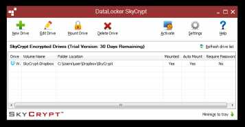 DataLocker SafeCrypt for Mac