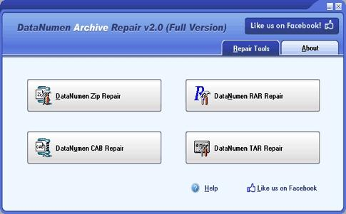 Download DataNumen Archive Repair