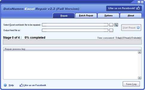 Download DataNumen Excel Repair