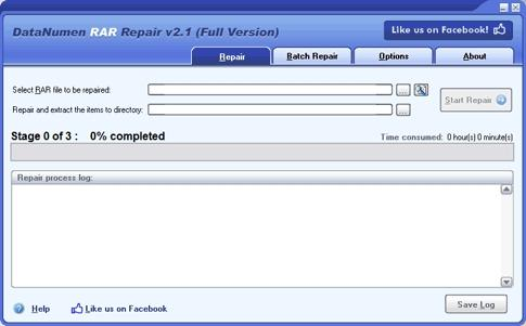 Download DataNumen RAR Repair