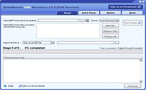 Download DataNumen SQL Recovery