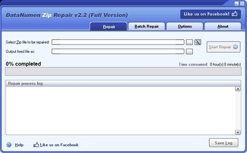 Download DataNumen Zip Repair