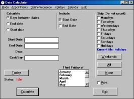 Download Date Calculator