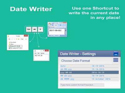 Date Writer