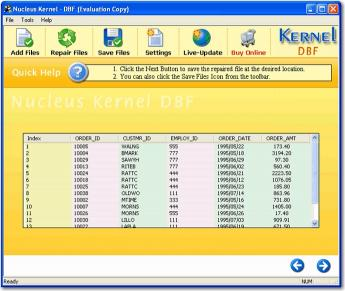 Download DBF Database Recovery Tool