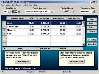 Download Debt Reduction - Zilch Standard