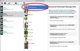 Decipher WhatsApp for Mac