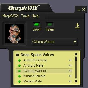 Download Deep Space Voices - MorphVOX Add-on