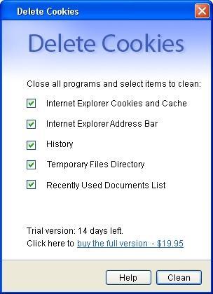 Download Delete Cookies