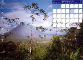 Desktop Calendar by Tinnes Software
