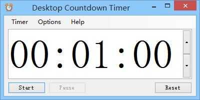 Desktop Countdown Timer