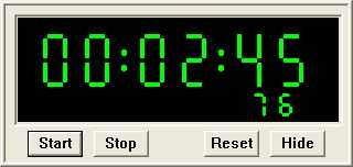 Desktop Stopwatch