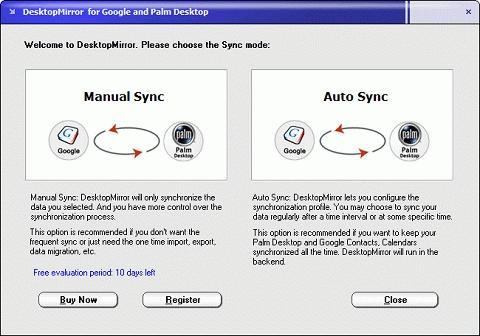 Download DesktopMirror for Google Palm Desktop