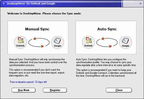 Download DesktopMirror for Outlook and Google