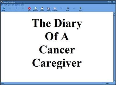 Download diaryofacancercaregiver.exe