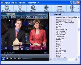 Download Digeus Online TV Player