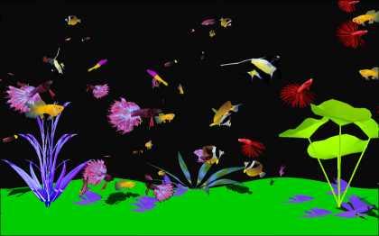 Download Digital Aquarium Screensaver