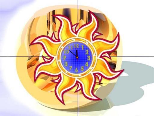 Download Digital Art Clock ScreenSaver