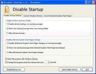 Download Disable Startup