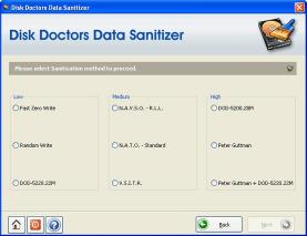 Download Disk Doctors Data Sanitizer