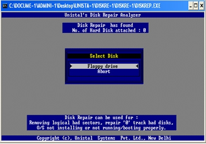 Disk Repair Software - standaloneinstaller com