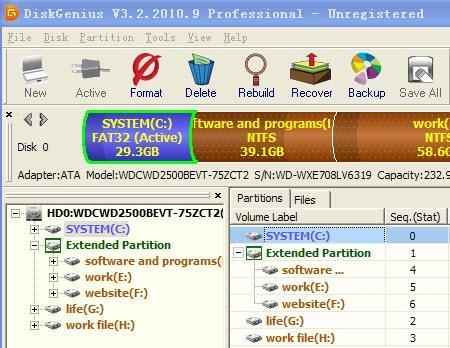 Download DiskGenius